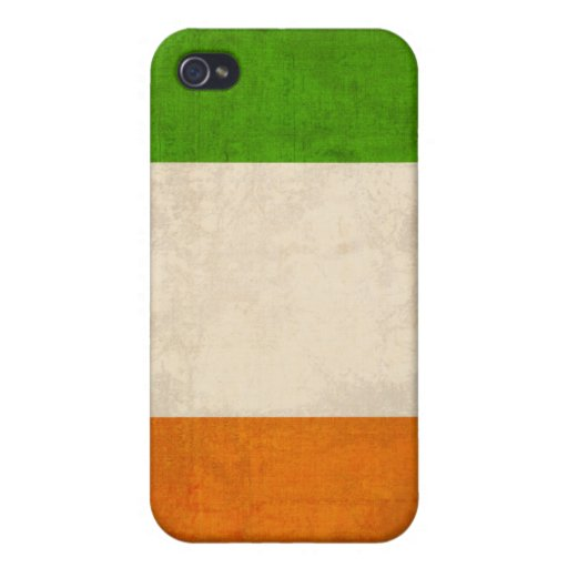 Ireland Flag Distressed iPhone 4 Case