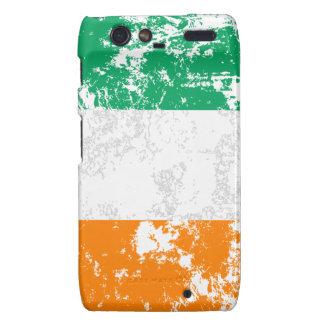 Ireland Flag Droid RAZR Cases