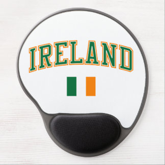 Ireland + Flag Gel Mouse Pad