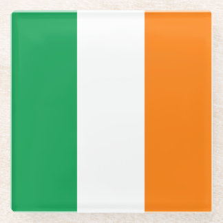 Ireland Flag Glass Coaster