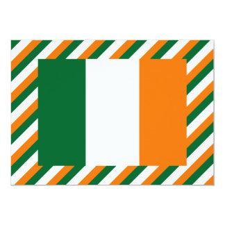Ireland Flag 5x7 Paper Invitation Card