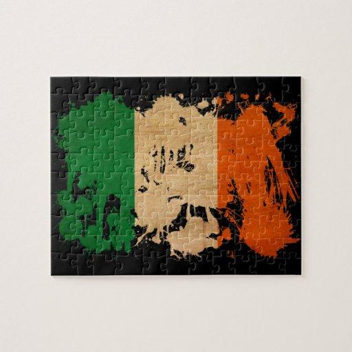 Ireland Flag Jigsaw Puzzle