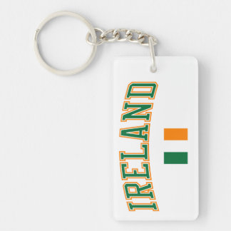 Ireland + Flag Keychain