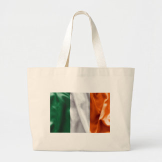 Ireland Flag Large Tote Bag