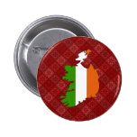 Ireland Flag Map full size Buttons