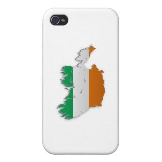 Ireland Flag Map Case For iPhone 4