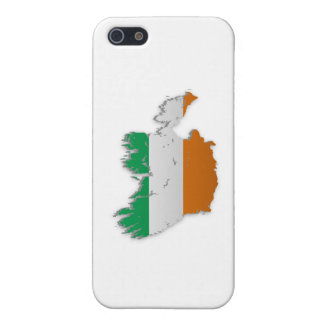Ireland Flag Map Cover For iPhone 5