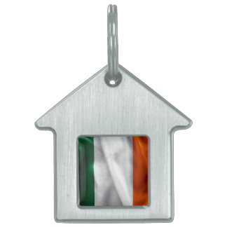 Ireland Flag Pet ID Tag