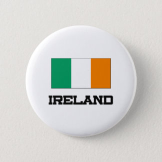 Ireland Flag Pinback Button