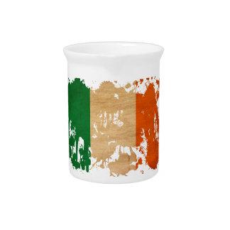 Ireland Flag Beverage Pitcher