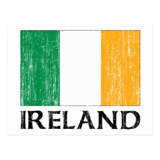Ireland Flag Postcard