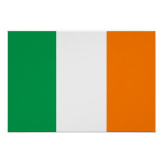Ireland Flag Poster
