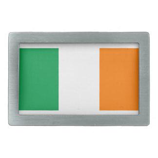 Ireland flag rectangular belt buckle