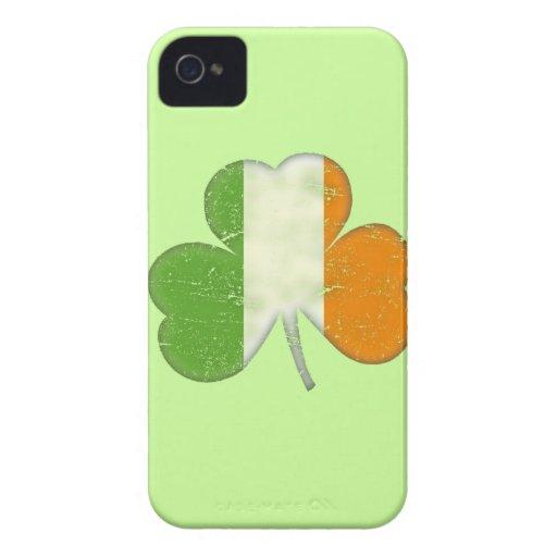 Ireland Flag Shamrock iPhone 4 Cases