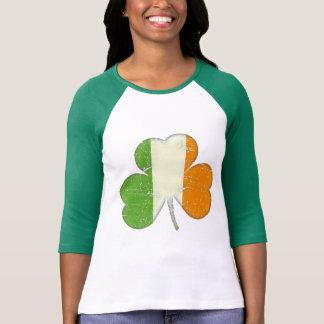 Ireland Flag Shamrock T-shirts