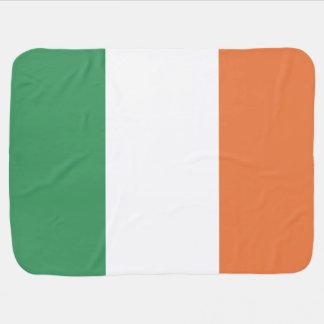 Ireland Flag Swaddle Blanket