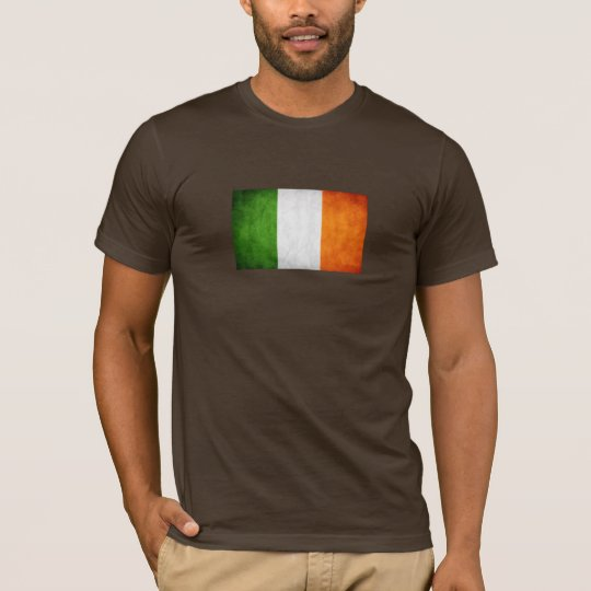 Ireland Flag T-shirt (customizable)