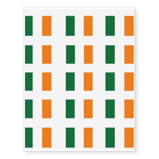 Ireland Flag Temporary Tattoos