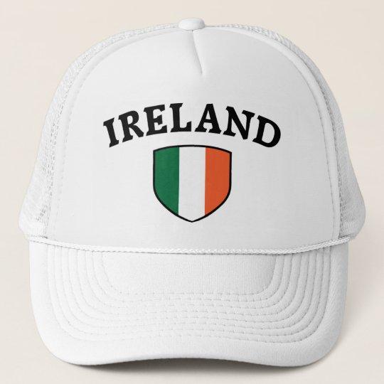 Ireland flag trucker hat  9c6df6ba7b1