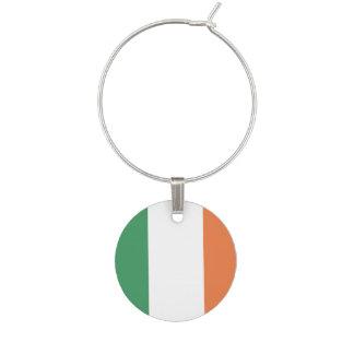 Ireland Flag Wine Charms