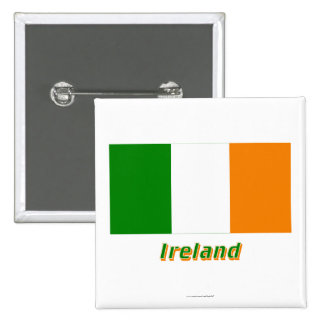 Ireland Flag with Name Pins