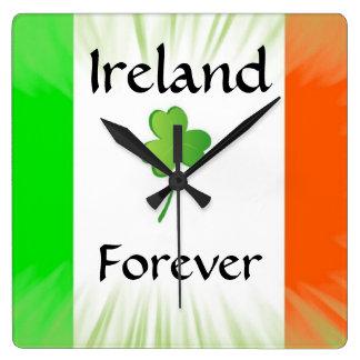 Ireland Forever Clock
