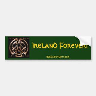 IRELAND FOREVER Collection Bumper Sticker