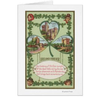 Ireland Forever - Cork and Killarney Castles Card
