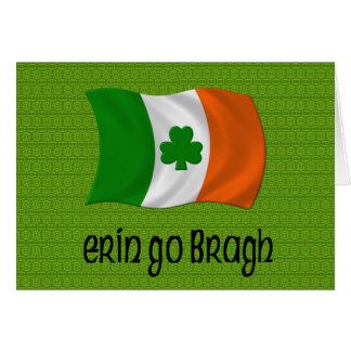 Ireland Forever Erin Go Bragh Irish Saying Card
