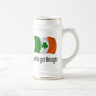 Ireland Forever Erin Go Bragh Irish Saying 18 Oz Beer Stein