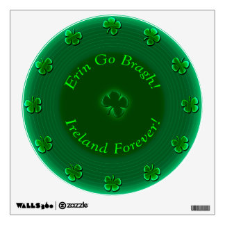 Ireland Forever! (Re-Stickable Wall Decal) Wall Sticker