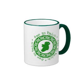 Ireland Forever Ringer Coffee Mug