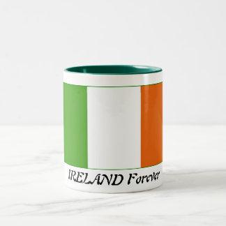 Ireland Forever Two-Tone Coffee Mug