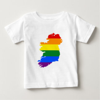 IRELAND GAY MARRIAGE VICTORY PRIDE COUNTRY MAP BABY T-Shirt
