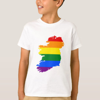 IRELAND GAY MARRIAGE VICTORY PRIDE COUNTRY MAP T-Shirt
