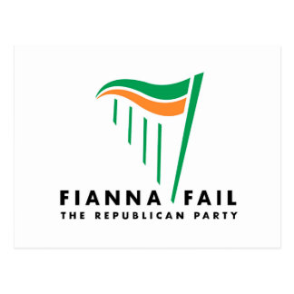 Ireland General Election image for postcard