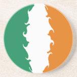 Ireland Gnarly Flag Drink Coaster