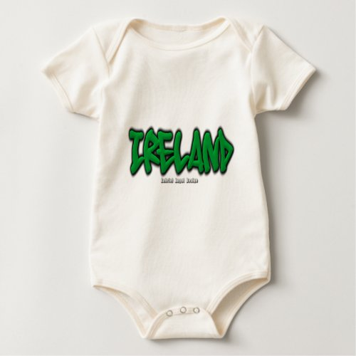 Ireland Graffiti Baby Bodysuit