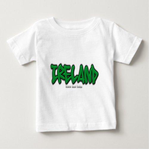 Ireland Graffiti Baby T_Shirt