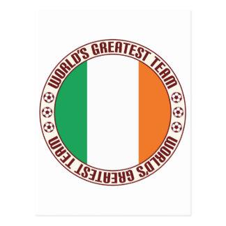 Ireland Greatest Team Postcard