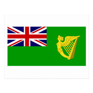 Ireland Green Ensign Postcard