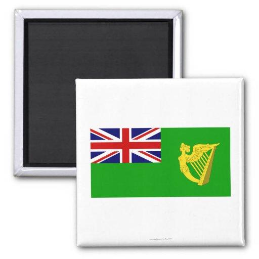 Ireland Green Ensign Refrigerator Magnet