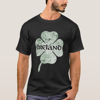 Ireland Grunge Clover Shirt (light)