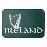 Ireland Harp Design, Irish Harp Bath Mat