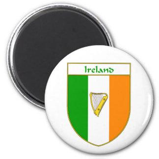 Ireland Harp Irish Flag Shield Refrigerator Magnets