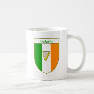 Ireland Harp Irish Flag Shield Coffee Mugs
