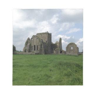 Ireland Hore Abbey Irish Ruins Rock of Cashel Notepad