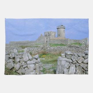 Ireland, Inishmore, Aran Island, Dun Aengus Fort Hand Towel