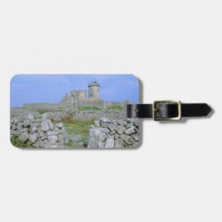 Ireland, Inishmore, Aran Island, Dun Aengus Fort Bag Tag