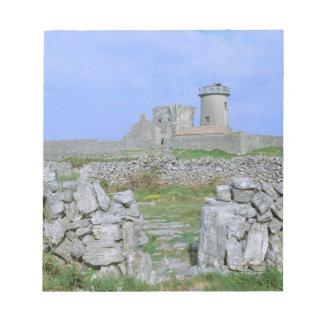 Ireland, Inishmore, Aran Island, Dun Aengus Fort Notepad